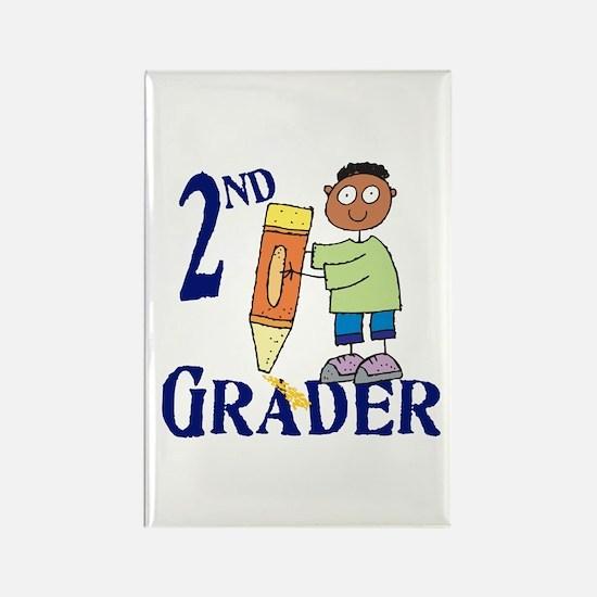 2nd Grade Boy Rectangle Magnet