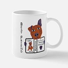 Police Dog Mug
