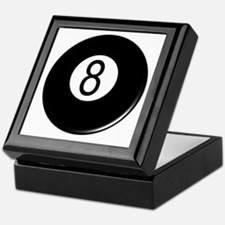 8 Ball Tattoo Keepsake Box
