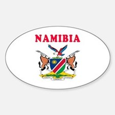 Namibia Coat Of Arms Designs Decal