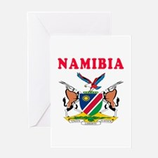 Namibia Coat Of Arms Designs Greeting Card