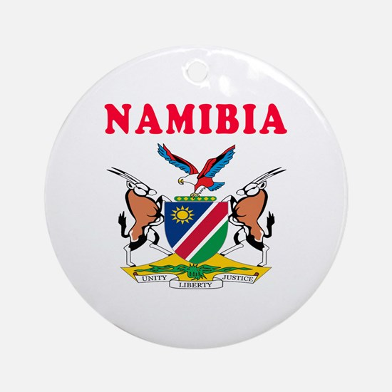 Namibia Coat Of Arms Designs Ornament (Round)