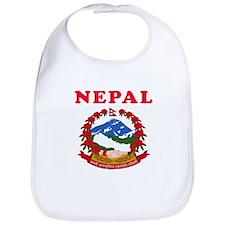 Nepal Coat Of Arms Designs Bib