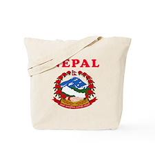 Nepal Coat Of Arms Designs Tote Bag