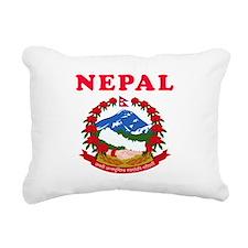 Nepal Coat Of Arms Designs Rectangular Canvas Pill
