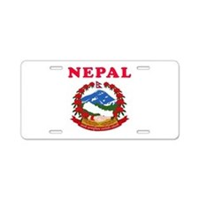 Nepal Coat Of Arms Designs Aluminum License Plate