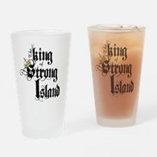 King of Strong Island Drinking Glass