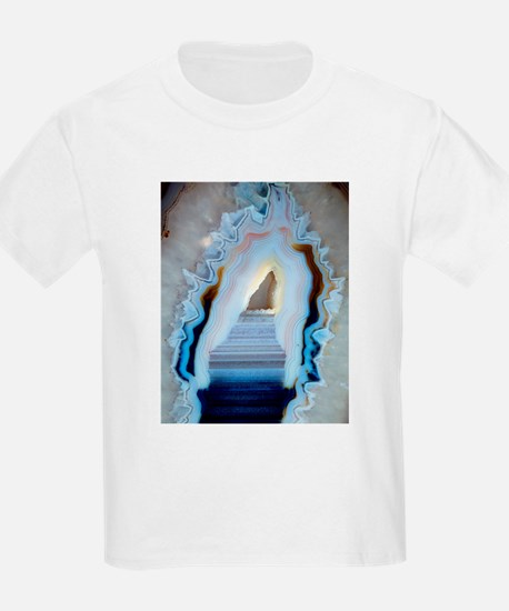 Slice of agate - T-Shirt