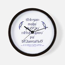 Affairs of Klingons Wall Clock
