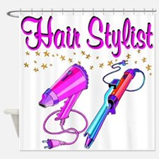 HAIR STYLIST Shower Curtain