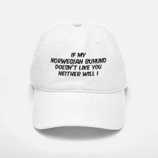 If my Norwegian Buhund Baseball Baseball Cap