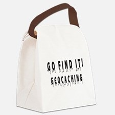 Geocaching: GO FIND IT! Canvas Lunch Bag