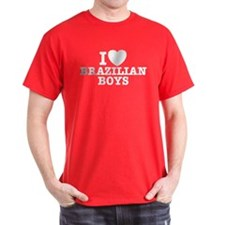 I Love Brazilian Boys T-Shirt