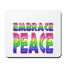African Embrace Peace Mousepad