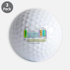 Periodic Table Golf Ball