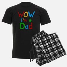 WOW I'm a Dad pajamas