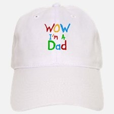 WOW I'm a Dad Baseball Baseball Cap