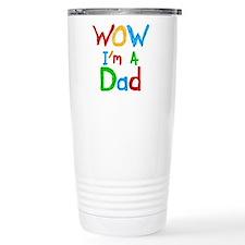 WOW I'm a Dad Travel Mug