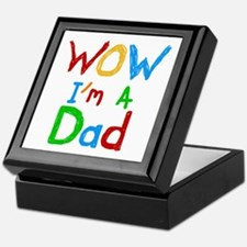 WOW I'm a Dad Keepsake Box