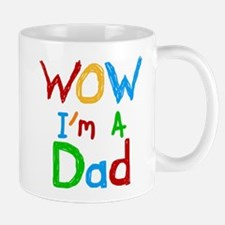 WOW I'm a Dad Small Mugs