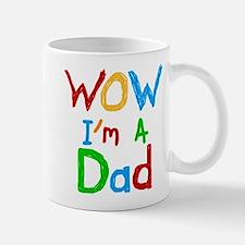 WOW I'm a Dad Small Small Mug