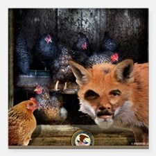 Holder Is A Fox In The US Hen House. Square Car Ma