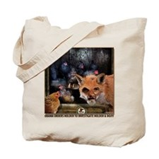 Holder Is A Fox In The US Hen House. Tote Bag