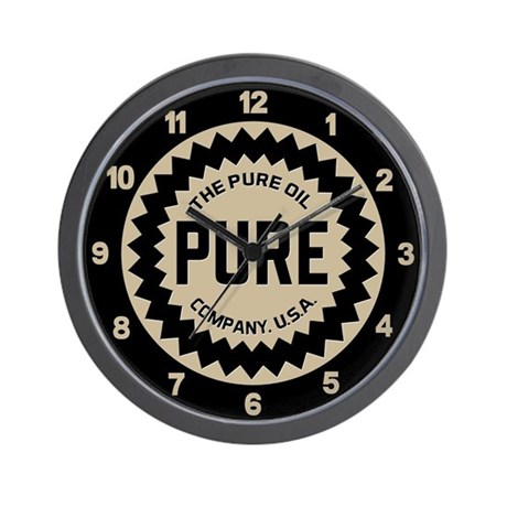 Pure Oil Co. Wall Clock