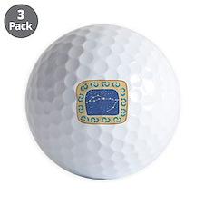 Pisces Constellation Golf Ball
