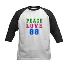 Peace Love 88 birthday designs Tee