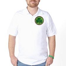 Shamrock And Celtic Knots T-Shirt