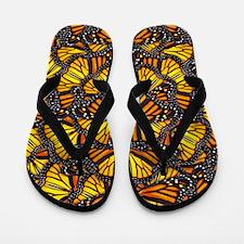 Effie's Butterflies Flip Flops