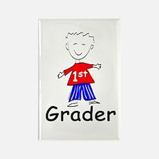 First Grade Boy Rectangle Magnet