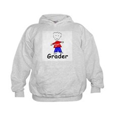 First Grade Boy Hoodie