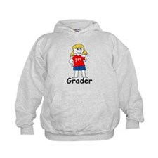 First Grade Girl Hoodie