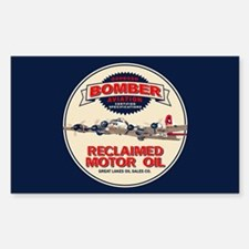 Bomber Reclaimed Motor Oil Decal