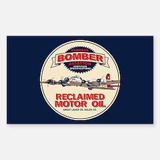 Bomber Reclaimed Motor Oil Sticker (Rectangle)