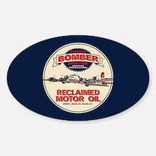 Bomber Reclaimed Motor Oil Sticker (Oval)