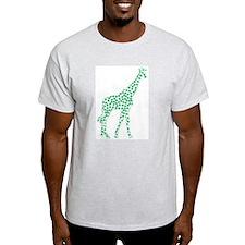 Kelly Green Polka Dot Giraffe T-Shirt