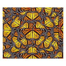 Effie's Butterflies King Duvet
