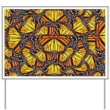 Effie's Butterflies Yard Sign