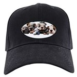BULLDOG SMILES Black Cap