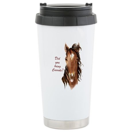 horsecarrots Travel Mug