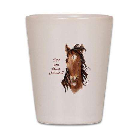 horsecarrots Shot Glass
