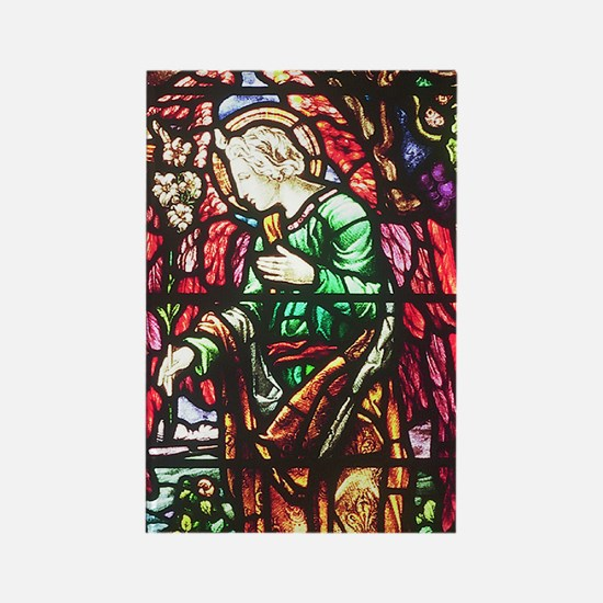Annunciation Angel Rectangle Magnet