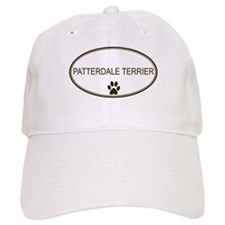 Oval Patterdale Terrier Baseball Cap