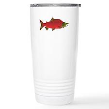 Sockeye Kokanee Salmon male f Travel Mug