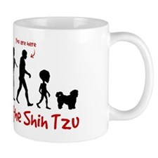 SHIH TZU Evolution - You are Here Mug