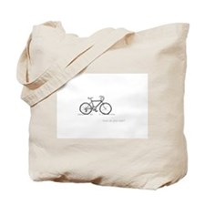 classic bicycle: how do you ride? Tote Bag