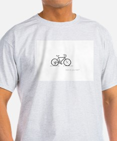 classic bicycle: how do you ride? T-Shirt